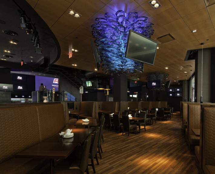 Michael Jordan's Steak House specializes in Prime aged steaks. The Steak House is known for its classic contemporary steakhouse cuisine, award winning wine selection, personalized service, and architectural excellence.