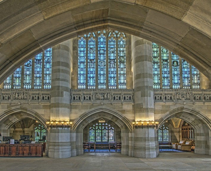 Sterling Memorial Library Interior